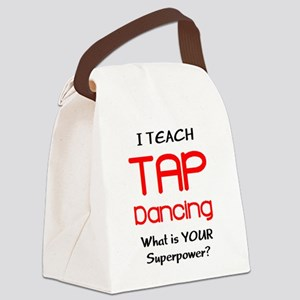 teach tap dance Canvas Lunch Bag