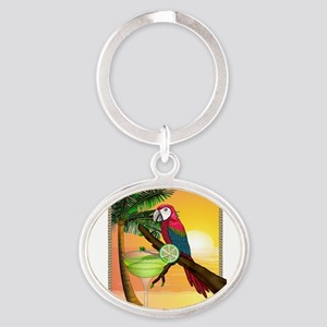 Macaw margarita Keychains