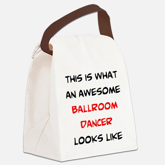 Funny Lindy hop Canvas Lunch Bag