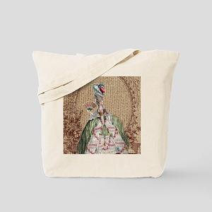 paris marie antoinette vintage fashion Tote Bag