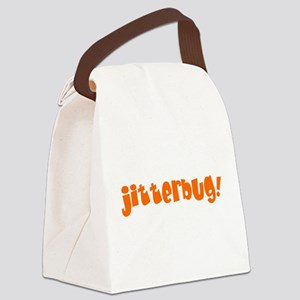 jitterbug! Canvas Lunch Bag