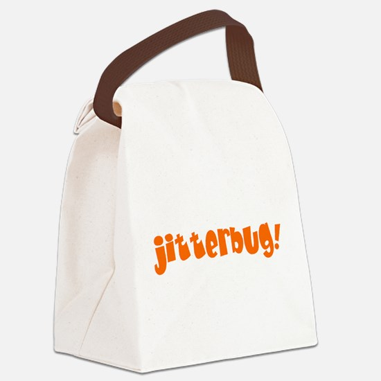 jitterbug! Canvas Lunch Bag