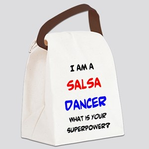 salsa dancer Canvas Lunch Bag
