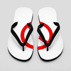 Banned Sign Flip Flops