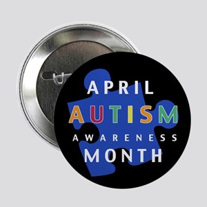 Autism Awareness Puzzle - Button