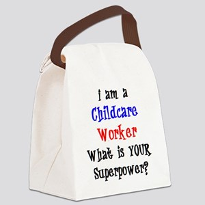 childcare worker Canvas Lunch Bag
