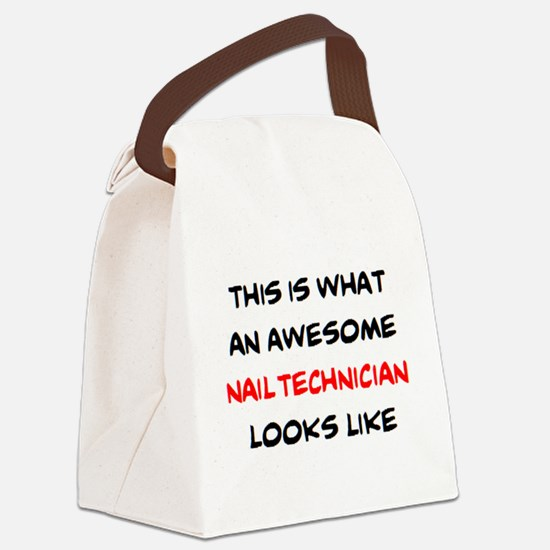 Unique Esthetician Canvas Lunch Bag