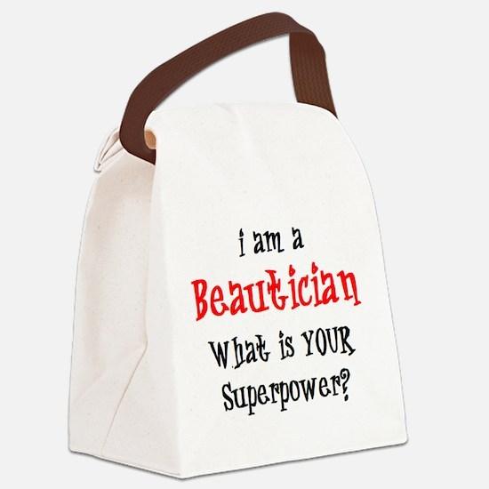 Funny Esthetician Canvas Lunch Bag