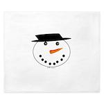 Snowman King Duvet
