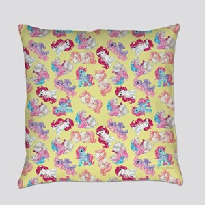 My Little Pony Retro Three Ponies Everyday Pillow