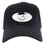 Snowman Baseball Hat