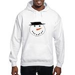 Snowman Hoodie Sweatshirt
