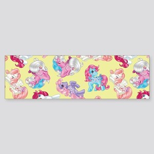 My Little Pony Retro Three Ponies Sticker (Bumper)