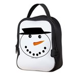 Snowman Neoprene Lunch Bag