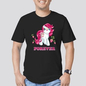 My Little Pony Retro S Men's Fitted T-Shirt (dark)