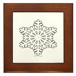 snowflake Framed Tile