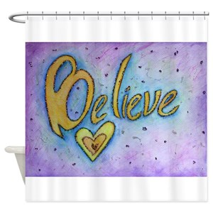 New Inspirational Words Shower Curtains - CafePress HT26