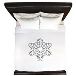 snowflake King Duvet