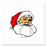 Santa Clause Square Car Magnet 3