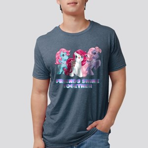 My Little Pony Retro Friend Mens Tri-blend T-Shirt