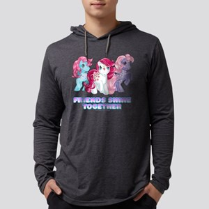 My Little Pony Retro Friends Shi Mens Hooded Shirt