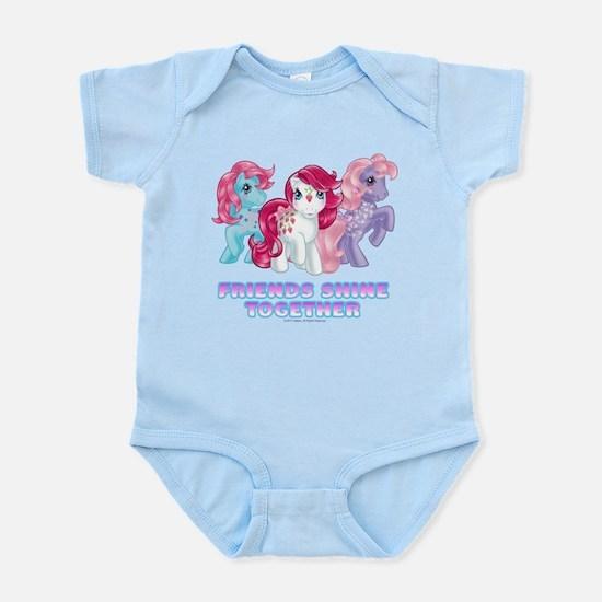 My Little Pony Retro Friends S Baby Light Bodysuit