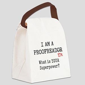 proofreader Canvas Lunch Bag