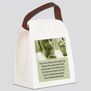 Osho 001 Canvas Lunch Bag