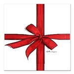 Gift Wrap Square Car Magnet 3