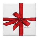 Gift Wrap Tile Coaster