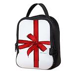 Gift Wrap Neoprene Lunch Bag