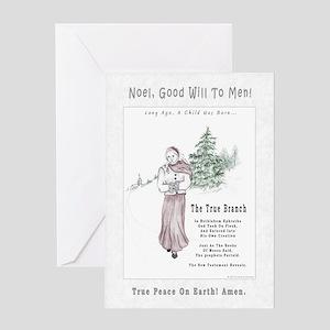Christmas Carol Greeting Cards