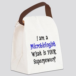 microbiologist Canvas Lunch Bag