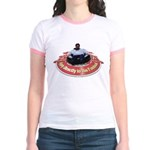 Sacrifice your body Jr. Ringer T-Shirt