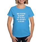 $15 an hour? - Women's Dark T-Shirt