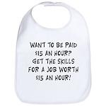 $15 an hour? - Bib