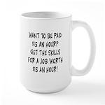 $15 an hour? - Large Mug