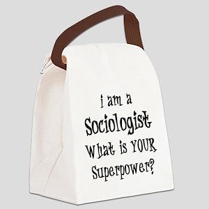 sociologist Canvas Lunch Bag