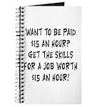 $15 an hour? - Journal