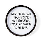 $15 an hour? - Wall Clock