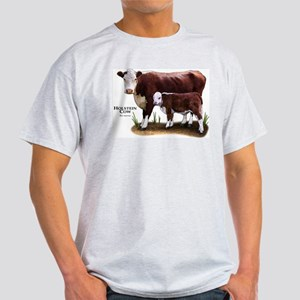 Hereford Cow and Calf Light T-Shirt