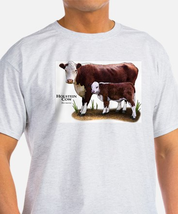 Hereford Cow and Calf T-Shirt