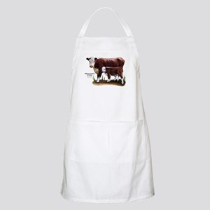 Hereford Cow and Calf Apron