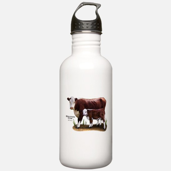Hereford Cow and Calf Water Bottle