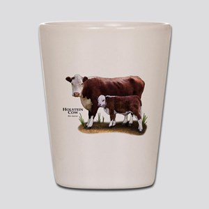 Hereford Cow and Calf Shot Glass