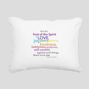 Fruits of the Spirit Rectangular Canvas Pillow