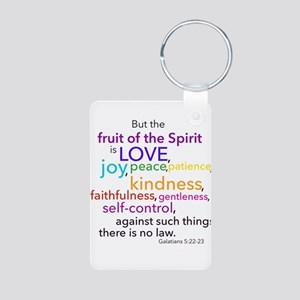 Fruits of the Spirit Keychains