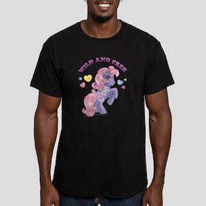 My Little Pony Retro W Men's Fitted T-Shirt (dark)