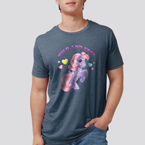 My Little Pony Retro Wild a Mens Tri-blend T-Shirt