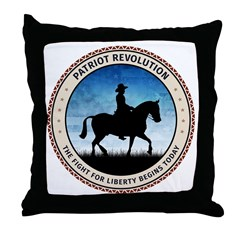 Patriot Revolution Throw Pillow